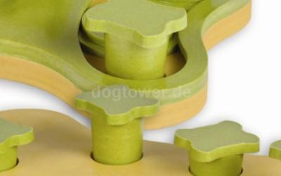 Intelligentes Hundespielzeug, beidseitig bespielbar