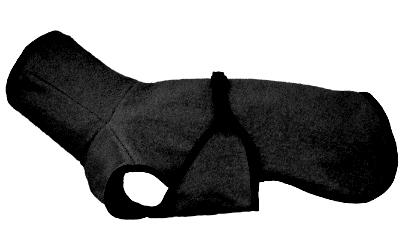 iqo Hundebademantel Pitschnass, schwarz
