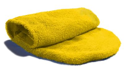 iqo Hundehandtuch (zum Hineinschlüpfen), gelb