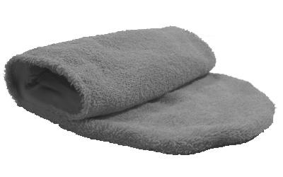 iqo Hundehandtuch (zum Hineinschlüpfen), granit