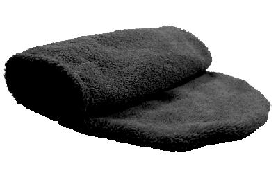 iqo Hundehandtuch (zum Hineinschlüpfen), schwarz
