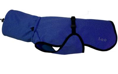 iqo Hundejacke Elegance, marineblau/meliert