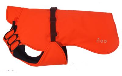 iqo Hundemantel Wintertraum (inkl. Wattierung und Innenfleece), orange