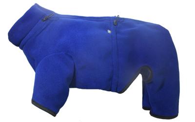 IQO Thermo-Fleece Hundeoverall, marineblau