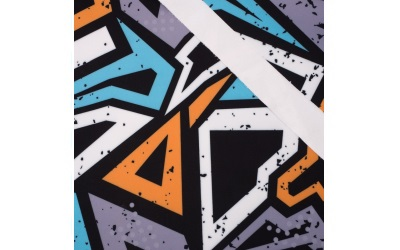 iqo Softshell Hundeoverall, Graffiti