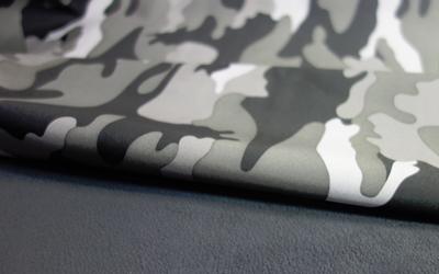 iqo Softshell Hundeoverall, camouflage grau/schwarz