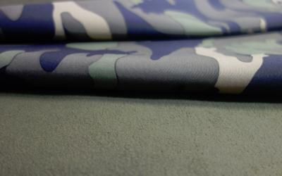 iqo Softshell Hundeoverall, camouflage khaki/grün
