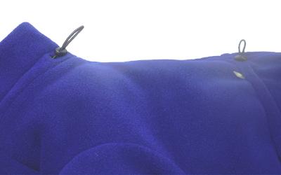 Im Hals und Kragen individuell einstellbar
