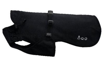 IQO VR Softshell Hundejacke, schwarz