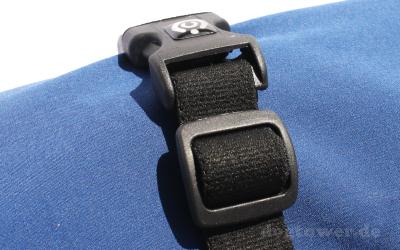 Stabiler Klickverschluß auf dem Rücken