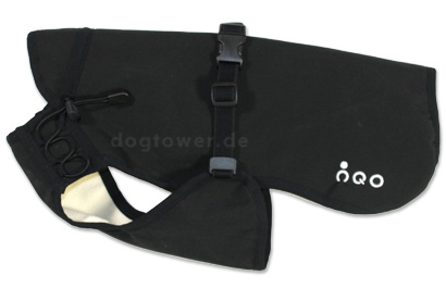 IQO VX Hundemantel schwarz/elfenbein