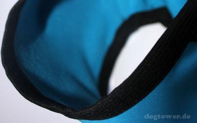 Perfekter Schutz für Brustkorb und Bauchunterseite