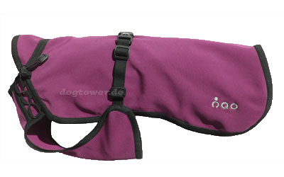 IQO VX Softshell Hundemantel, purpur