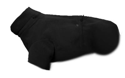 iqo VXf Hundejacke Frosti (wind- und wasserdicht), schwarz
