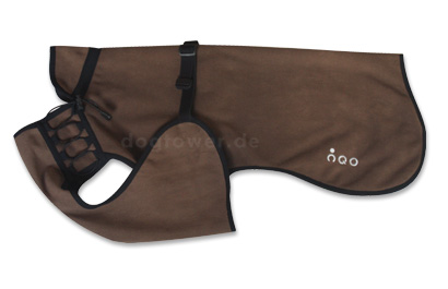 IQO VXf Softshell Hundemantel braun
