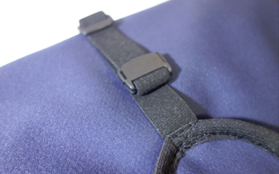 Endstück abnehmbar und Gurtband individuell kürzbar