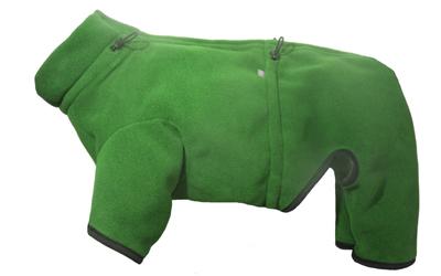 iqo XW Thermo-Fleece Hundeoverall, grün