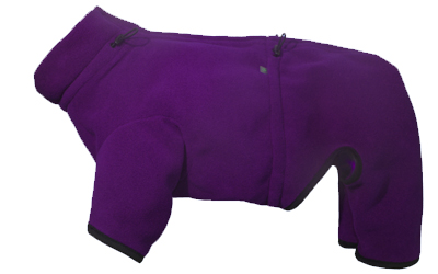 iqo XW Thermo-Fleece Hundeoverall, lila