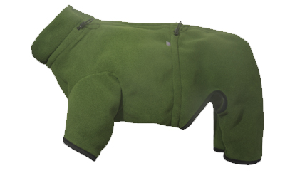 iqo XW Thermo-Fleece Hundeoverall, moos