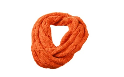 James & Nicholson Zopfmuster Loopschal, dark-orange