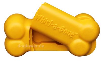 Whirl-A-Bone L in gelb