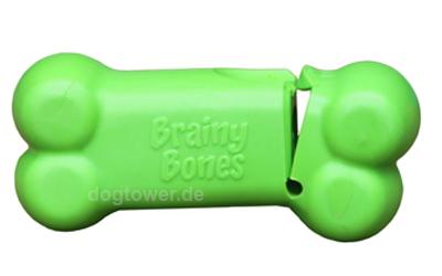 Peek-A-Bone L in grün
