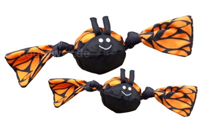 Jolly Tug Butterfly, schwarz/orange