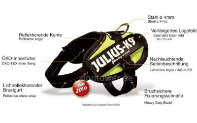 Julius K9 IDC Geschirr Ausstattung