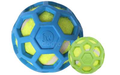 JW Pets Hol-EE Roller mit Tennisball