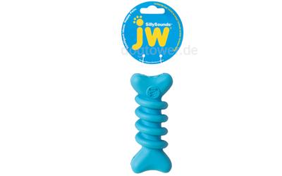 Blauer Hundeknochen von JW Pets (quietscht)