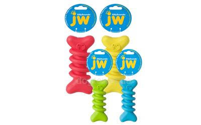 JW Pets Sillysounds Spiral Bone