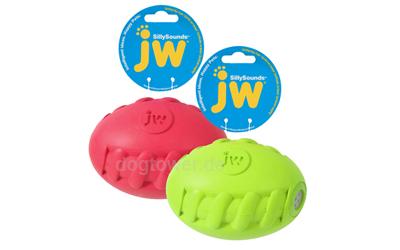 JW Pets Sillysounds Spiral Football