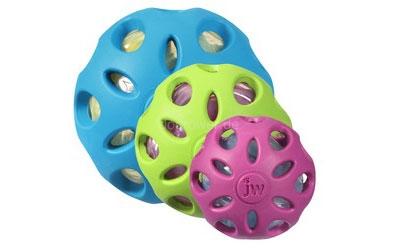 Hundespielzeug Crackle Head Ball