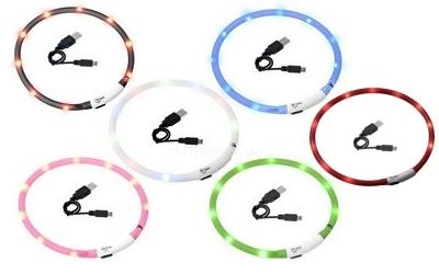 Leuchthalsband Visio Light, Farben
