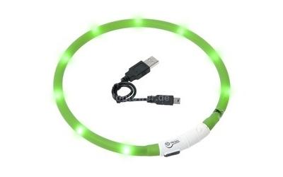 LED Leuchthalsband Visio Light, grün