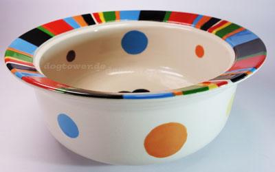 Keramik Hundenapf Rainbow