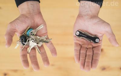 Endlich kein umfangreiches Schlüsselbund