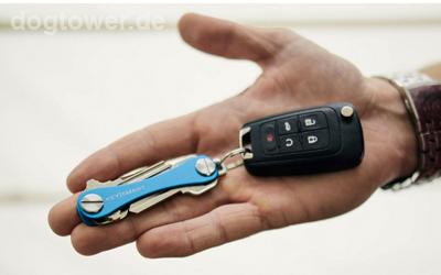 In Kombination mit dem Autoschlüssel nutzbar