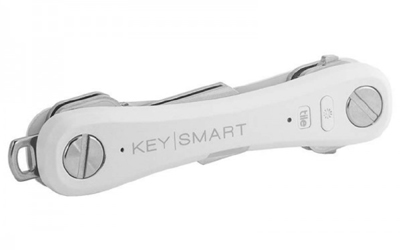 KEYSMART Pro Edition with tile smart Location, weiss