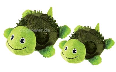 Kong Plüschspielzeug Shells Turtle