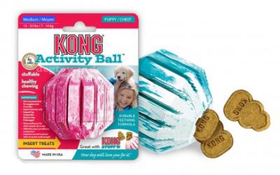 Kong Puppy Activity Hundeball