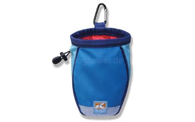 Kurgo Go Stuff It Treat Bag Leckerliebeutel, coastal blue