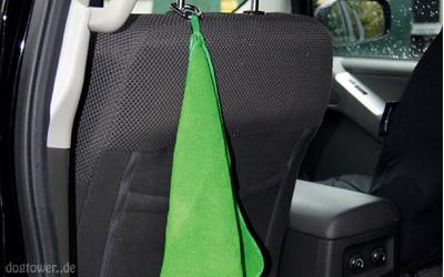 Kurgo Mud Dog Travel Towel, Reisehandtuch, grün
