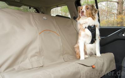 Rücksitzschutz, nutzbar für kleine und große Hunde