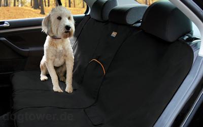 Kurgo Rücksitzbezug Bench Seat Cover, schwarz