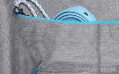 Zusätzliche Tasche für Stauraum