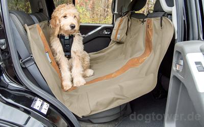 Perfekter Schutz der Rücksitze