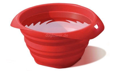 Silkon- Napf, rot