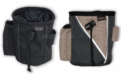 Leckerliestasche, schwarz