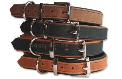 Mehrfarbige Hundehalsbänder